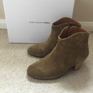 Isabel Marant Dicker suede ankle boots 6.5 - 7